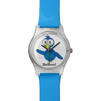 ¡Hellooo! Pájaro Relojes De Mano
