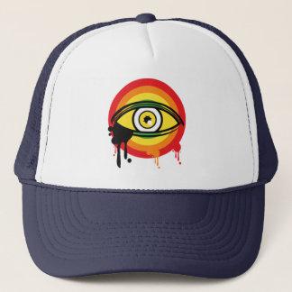 Hellow Yellow Skull Cover Trucker Hat