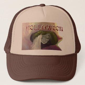 helloween trucker hat