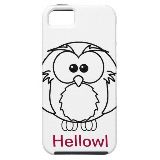 Hellowl iPhone 5 Case-Mate Coberturas