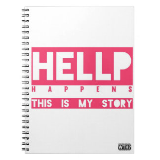 HELLP Happens (pink) Note Books