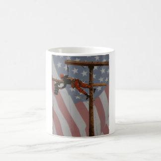 HELLS BELLS USA CLASSIC WHITE COFFEE MUG
