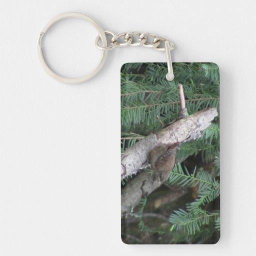 Hells Canyon Idaho Animals / Birds Aves Single-Sided Rectangular Acrylic Keychain