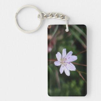 Hells Canyon Idaho Flora Wildflowers Flowers Rectangle Acrylic Key Chains