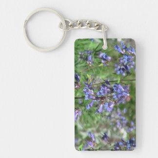 Hells Canyon Idaho Flora Wildflowers Flowers Rectangular Acrylic Key Chains