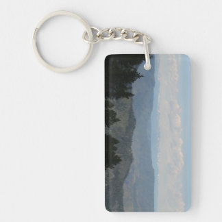 Hells Canyon Idaho Landscape Skyscape Waterscape Rectangle Acrylic Key Chains