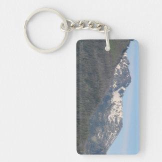 Hells Canyon Idaho Landscape Skyscape Waterscape Rectangle Acrylic Key Chain