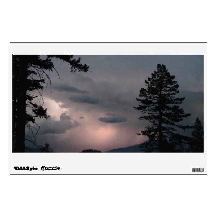 Hells Canyon Idaho Landscape Skyscape Waterscape Wall Decal