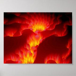 Hell's Fiery Fury Poster