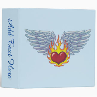 Hell's Flames and Angel Wings Binder