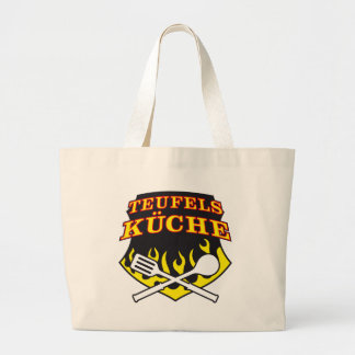 Hell's kitchen canvas bags