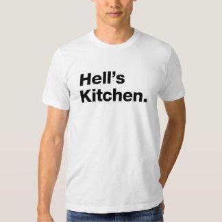 Hell's Kitchen (black) T Shirts