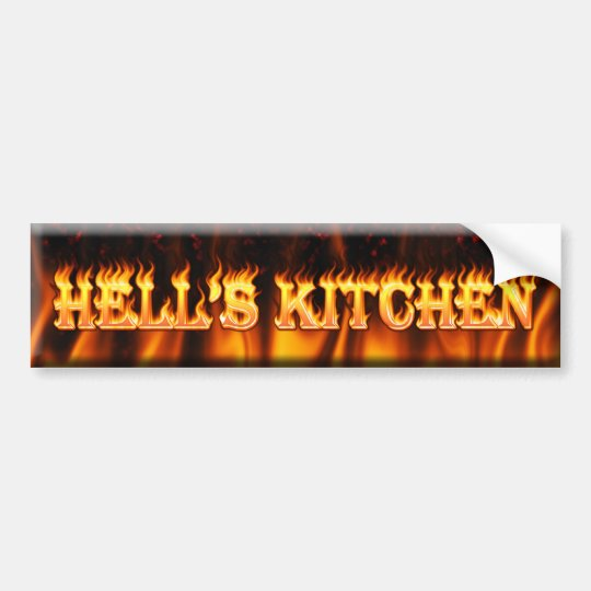 hell's kitchen bumper sticker