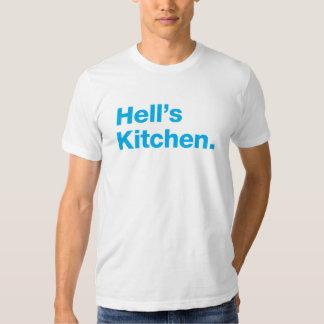 Hell's Kitchen (cyan) Tshirts