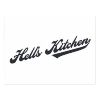 Hell's Kitchen Postcard