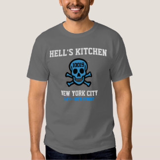 Hell's Kitchen Zip Code Shirt