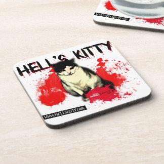 Hell's Kitty - coaster