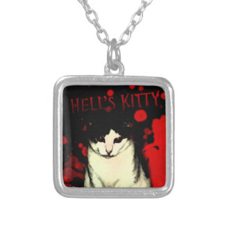 Hell's Kitty Necklace