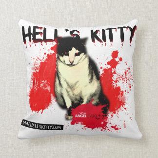 Hell's Kitty Pillow