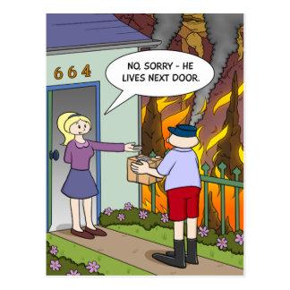 Hell's Neighbour Postcard