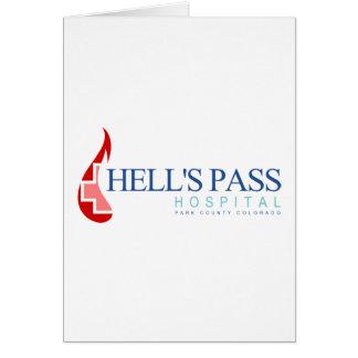 Hell's Pass Hospital, Park County CO Card