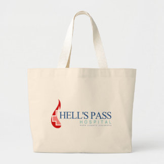Hell's Pass Hospital, Park County CO Large Tote Bag