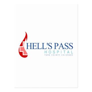 Hell's Pass Hospital, Park County CO Postcard