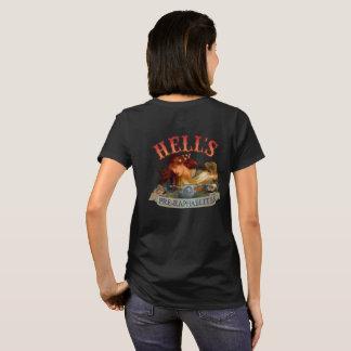 Hell's Pre-Raphaelite Back Design T-Shirt