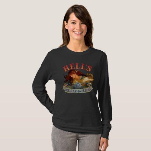 Hells Pre_Raphaelite Front Design T_Shirt