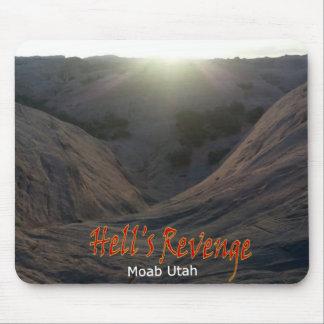 Hell's Revenge -Moab Utah Mouse Pad