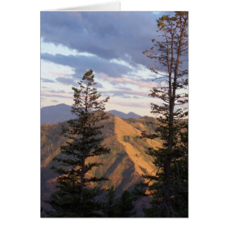 Hells vertical view stationery note card