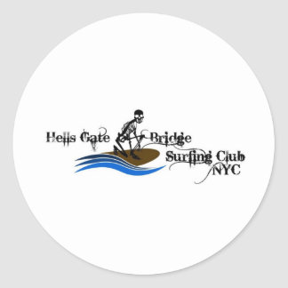 HellsGateBridgeSurfingClub Stickers