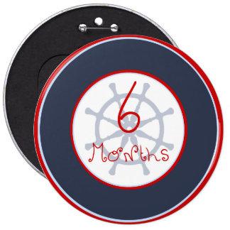 Helm 6 Months Button