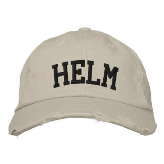 Helm Embroidered Hat Embroidered Baseball Caps