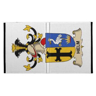 Helm Family Crest iPad Folio Cases