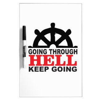 helm hell dry erase board