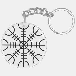 Helm of Awe Keychain