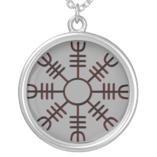 Helm of Awe Red Glow Necklace