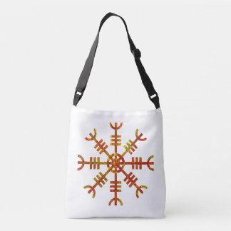Helm Of Awe Viking Design Crossbody Bag