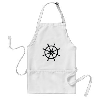 Helm Silhouette Adult Apron