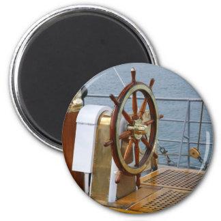 Helm wheel 2 inch round magnet