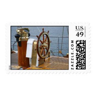 Helm wheel stamp