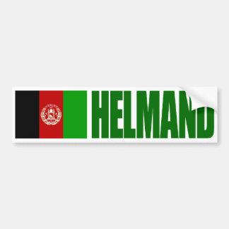 Helmand - Afghanistan Flag Car Bumper Sticker
