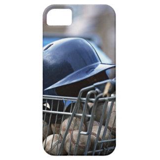 Helmet and Baseball Ball iPhone 5 Cover