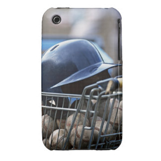 Helmet and Baseball Ball iPhone 3 Cases