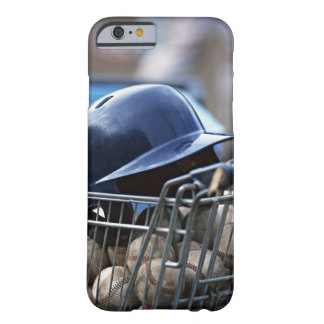 Helmet and Baseball Ball Barely There iPhone 6 Case