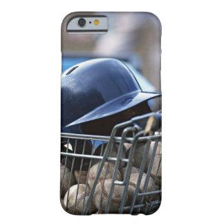 Helmet and Baseball Ball iPhone 6 Case