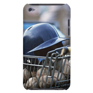 Helmet and Baseball Ball iPod Touch Case