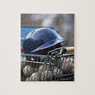 Helmet and Baseball Ball Puzzles