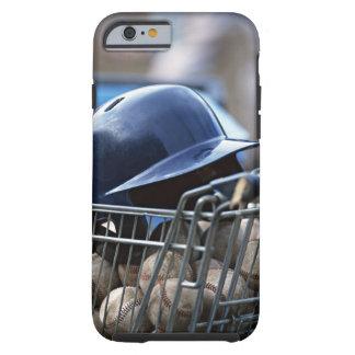 Helmet and Baseball Ball Tough iPhone 6 Case
